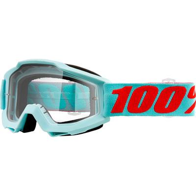 100% Accuri Goggle  Maldives Frame/Clear Lens