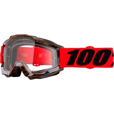 100% Accuri Goggle  Vendome Frame/Clear Lens
