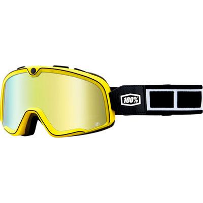 100% Barstow Goggle  Burnworth Frame/Gold Mirror Lens