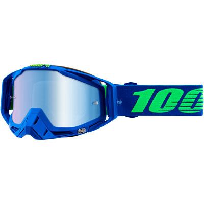 100% Racecraft Goggle  Dreamflow Frame/Blue Mirror Lens