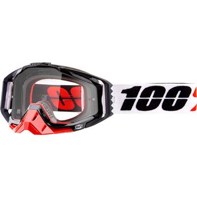 100% Racecraft Goggle  Marigot Frame/Clear Lens
