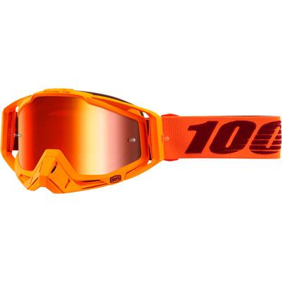 100% Racecraft Goggle  Menlo Frame/Red Mirror Lens
