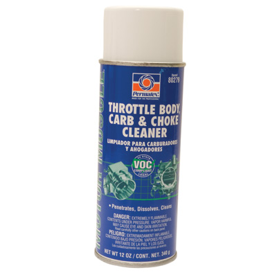 Permatex Throttle Body, Carb and Choke Cleaner 12 oz.