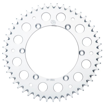 Primary Drive Rear Aluminum Sprocket 42 Tooth Silver for Yamaha RAPTOR 660 2001-2005