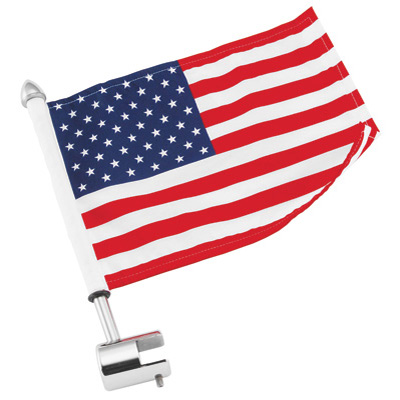 Pro Pad Sport Rack Square Mount With 6 x9  USA Flag