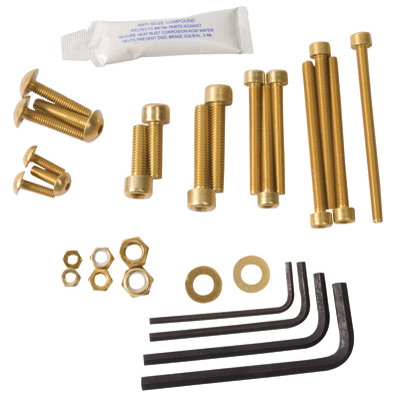 Pro-Bolt 25 Piece Alloy Workshop Kit  Gold