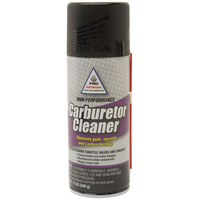 Pro Honda Carburetor Cleaner (Non-Chlorinated, 50 State Legal) 12 oz.