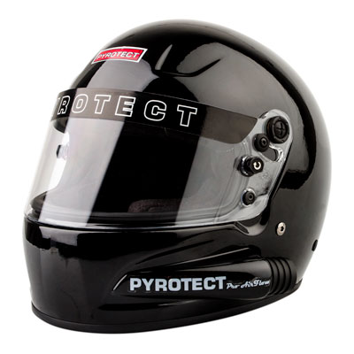 Pyrotect Pro Airflow Side Forced Air Helmet Medium Gloss Black