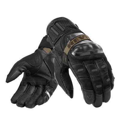 REV'IT! Cayenne Pro Summer Motorcycle Gloves Small Black