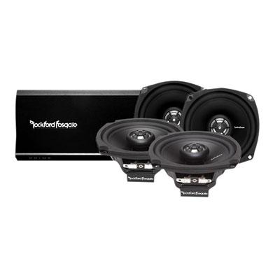 Rockford Fosgate Prime 160 Watt 4 Channel Amp And Speaker Kit
