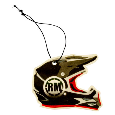 Rocky Mountain ATV/MC Air Freshener Red Helmet Vanilla