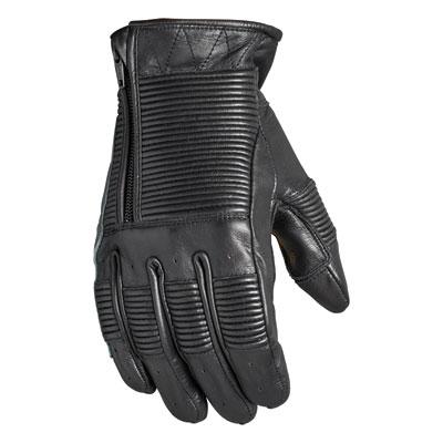 Roland Sands Design Bronzo Leather Gloves X-Large Black