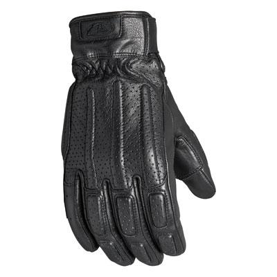Roland Sands Design Rourke Leather Gloves Small Black