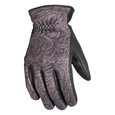 Roland Sands Design Springfield Gloves Small Black