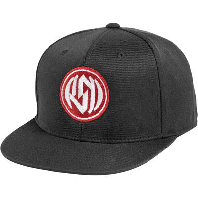 Roland Sands Design Corpo Snapback Hat  Black
