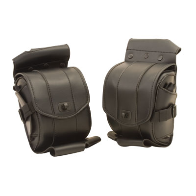 Saddlemen Cruis'n Deluxe Saddlebag Guard Bag Set