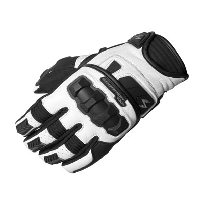 Scorpion Klaw II Motorcycle Gloves XX-Large White