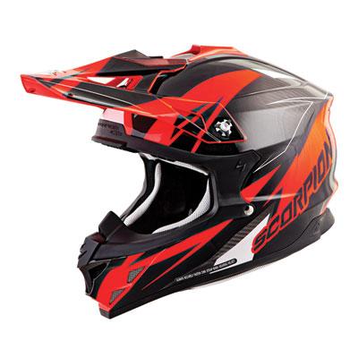 Scorpion VX-35 Krush Helmet X-Large Neon Orange/Black