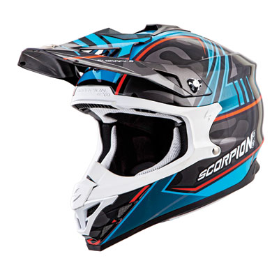 Scorpion VX-35 Miramar Helmet Small Blue Camo