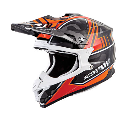 Scorpion VX-35 Miramar Helmet Small Orange Camo