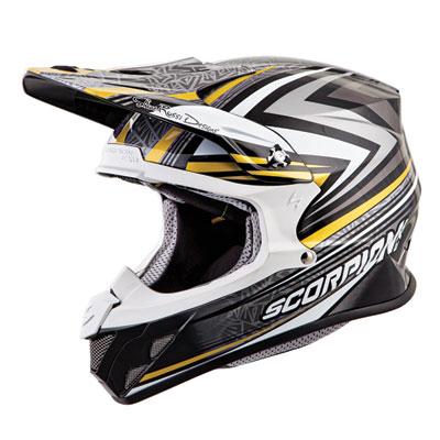 Scorpion VX-R70 Barstow Helmet Small Gold
