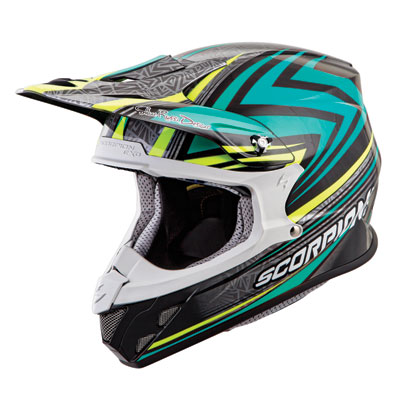 Scorpion VX-R70 Barstow Helmet X-Large Teal