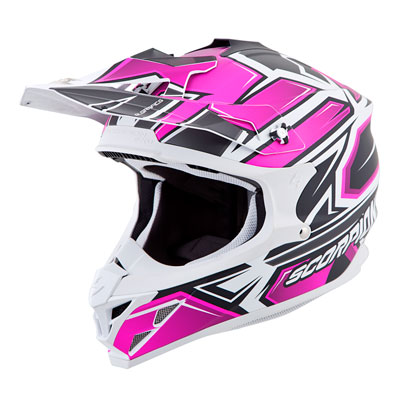 Scorpion VX-35 Finnex Helmet Medium Pink