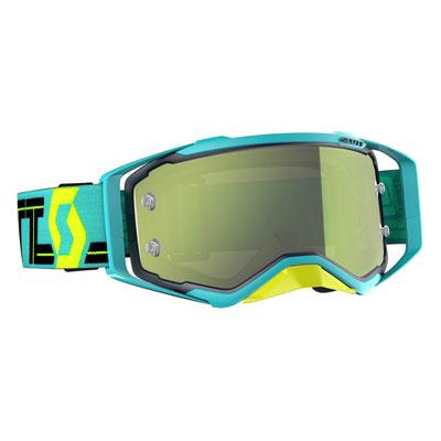 Scott Prospect Goggle  Blue-Teal Frame/Yellow Chrome Works Lens