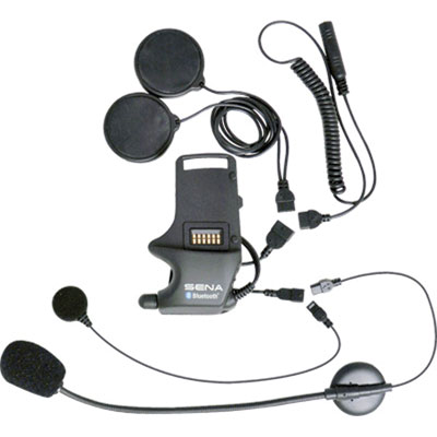 Sena SMH10 Helmet Clamp Kit - For Speakers and Earbuds with Attachable Boom & Wired Microphone