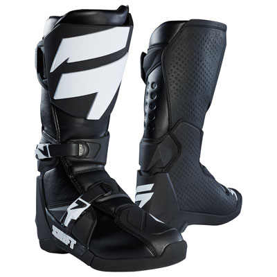 Shift WHIT3 Label Boots Size 12 Black