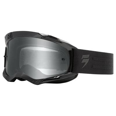 Shift WHIT3 Label Goggle  Black/White Frame/Grey Lens