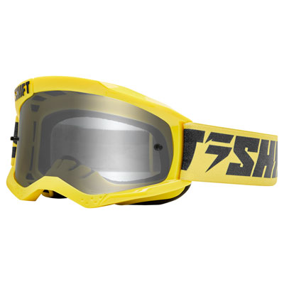 Shift WHIT3 Label Goggle  Yellow-Navy Frame/Grey Lens