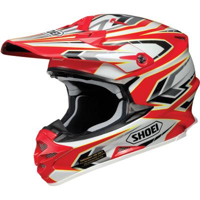 Shoei VFX-W Block-Pass Helmet X-Small Red
