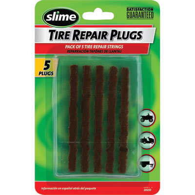Slime Replacement Tire Plugs 5 Pack