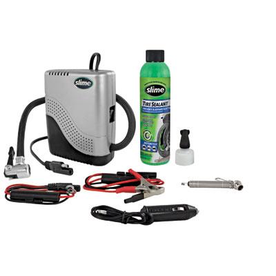 Slime Moto Spair Kit with Compressor
