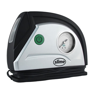 Slime Auto Compressor with Dial Gauge and LED Light
