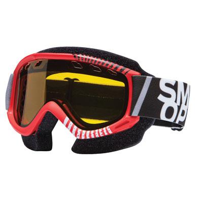 Smith Snow Fuel v1 Goggles  Red Daze
