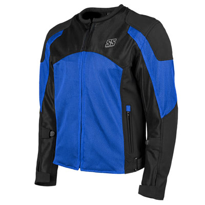 Speed and Strength Midnight Express Mesh Jacket Small Blue