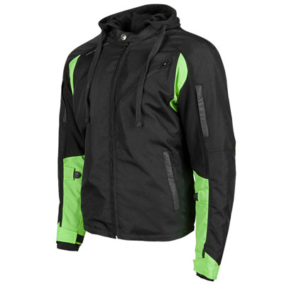 Speed and Strength Fast Forward Textile Jacket XX-Large Hi-Vis/Black