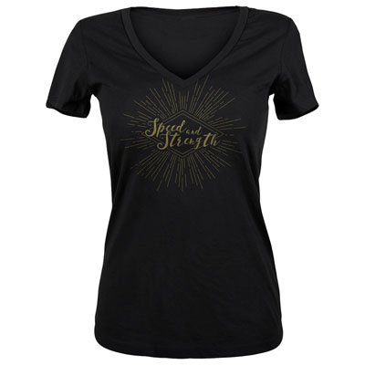 Speed and Strength Women's Seventh Heaven T-Shirt Small Black