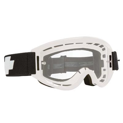 Spy Breakaway Goggle  White Frame/Clear Lens