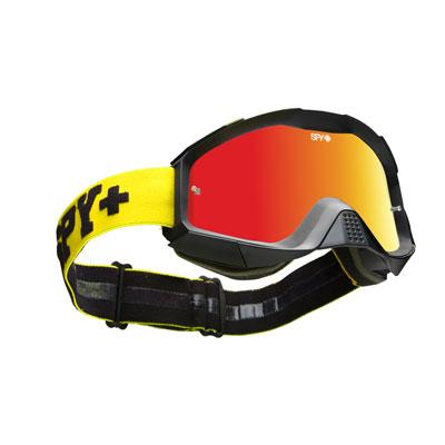 Spy Klutch Goggle  Jersey Yellow Frame/Smoke Red Spectra Lens
