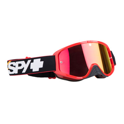 Spy Woot Race Goggle  Slice Red Frame/ Smoke Red Spectra Lens