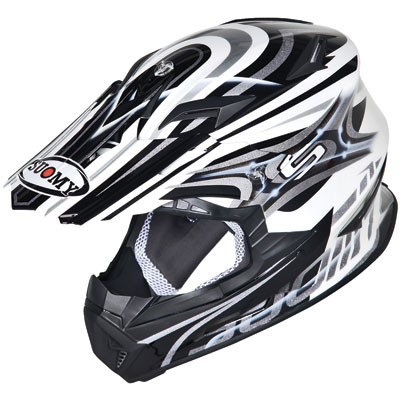 Suomy Rumble Vision Helmet Large Silver