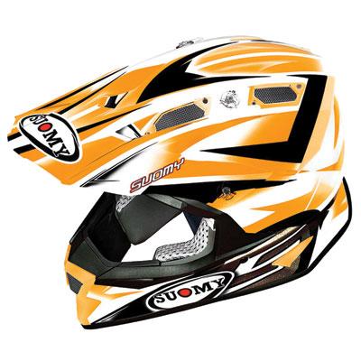 Suomy Alpha Helmet Medium Bike Orange