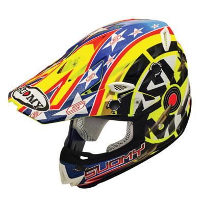 Suomy MX Jump Shots Helmet X-Large Yellow