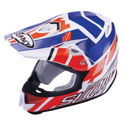 Suomy MX Jump Special Helmet XX-Large Red/White/Blue