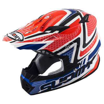 Suomy Rumble Snake Helmet X-Small Red