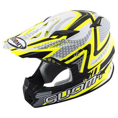 Suomy Rumble Snake Helmet Large Yellow