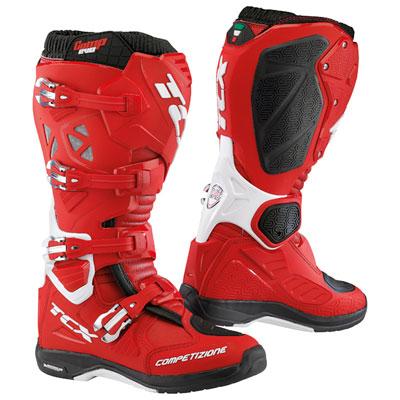 TCX Comp Evo 2 Michelin Boots Size 11 Red/White